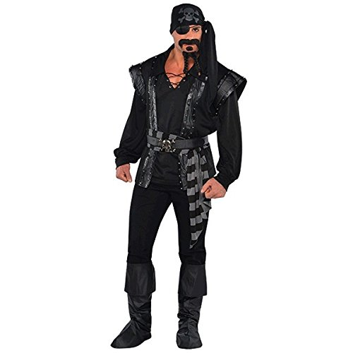 Sea Scoundrel Costumes (Dark Sea Scoundrel Costume - Standard - Chest Size 42)