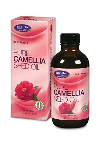 Pure Camellia Seed Oil Life Flo Health Products 4 oz Liquid