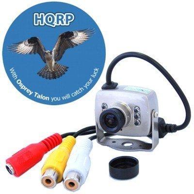 HQRP Spy CCTV Security Surveillance Mini Color CMOS Camera compatible with Zmodo DVR-H8116UV DVR-H8006UV DVR-H9106UVD-SV DVR-H9106UVDH + HQRP Coaster, Best Gadgets