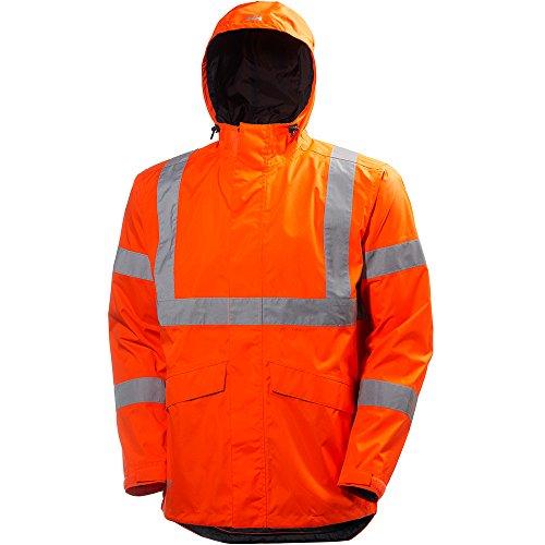 Helly Hansen Men's Alta Shelter Jacket, Orange, Large