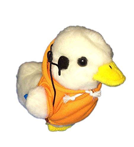 aflac-duck-with-orange-sweatshirt