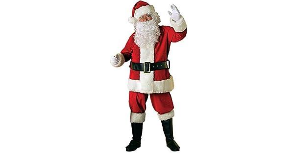 Amazon.com: Rubies - Traje de Papá Noel de terciopelo para ...