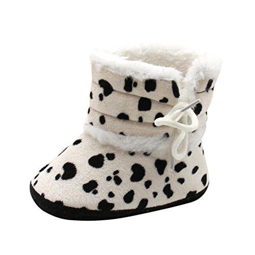 zapatos de bebé para bautizo BBsmile Botines De Bebé recién nacidos Niña  niño Botas de nieve 7b9f582e171
