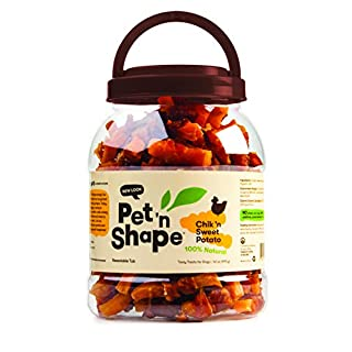 Pet 'n Shape Chik 'N Sweet Potato - All Natural Dog Treats, Chicken, 2.6 Lb