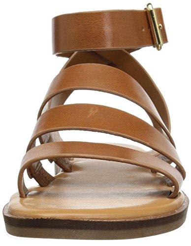 Franco Kyson Tan Women's Sarto Sandal Flat q00wx4AfpT