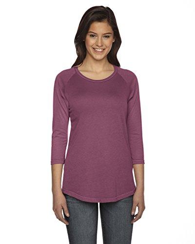 Authentic Pigment Ladies True Spirit Raglan T-Shirt, XS, NAUTICAL (Spirit Jerseys Wholesale)