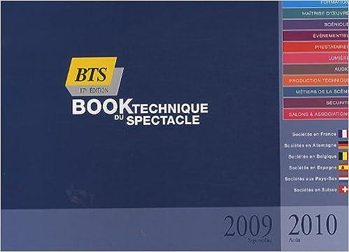 Télécharger en ligne Book technique du spectacle 2009-2010 pdf