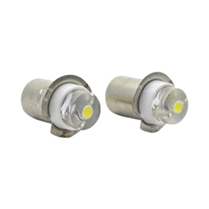 Ruiandsion P13.5 - Bombilla LED para linterna (LED, CC, 3 V