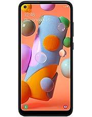 Tracfone Samsung Galaxy A11 4G LTE Prepaid Smartphone (Locked) - Black - 32GB - Sim Card Included - CDMA