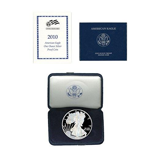2010 W American Silver Eagle $1 Proof w/OGP & COA