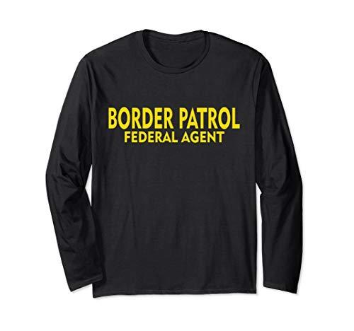 Border Patrol Federal Agent T-Shirt Police Uniform Top Tee Border Patrol T-shirt Tee Top