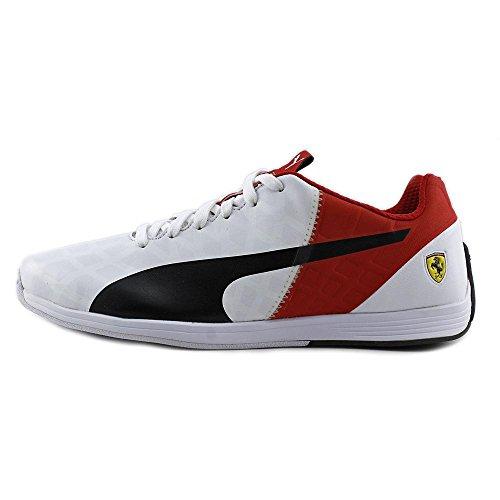 Puma Ferrari Evospeed 1.4 Herenschoenen Wit / Zwart / Rosso Corsa