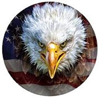 product image for Face Of Freedom 16 inch Round Wall Art