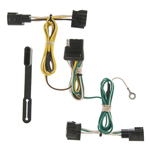 CURT 55363 Vehicle-Side Custom 4-Pin Trailer Wiring Harness for Select Jeep -
