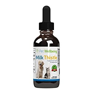 Pet Wellbeing - Milk Thistle for Cats - Natural Support for Feline Liver Health - 2oz (59ml) 10