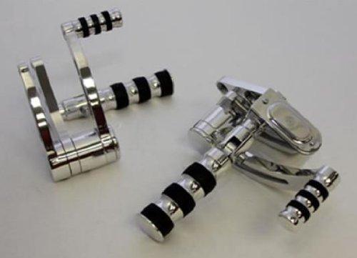 Belt Drives Forward Controls - Polished GMA-FC-100-P