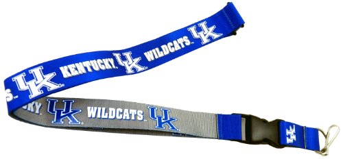 Wildcats Ncaa Lanyard (  aminco NCAA Kentucky Wildcats Reversible Lanyard)