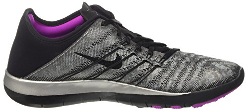 Black Silver TR Training Nike Violet Free Metallic Womens Hyper Shoes 6 Px8wgPOB