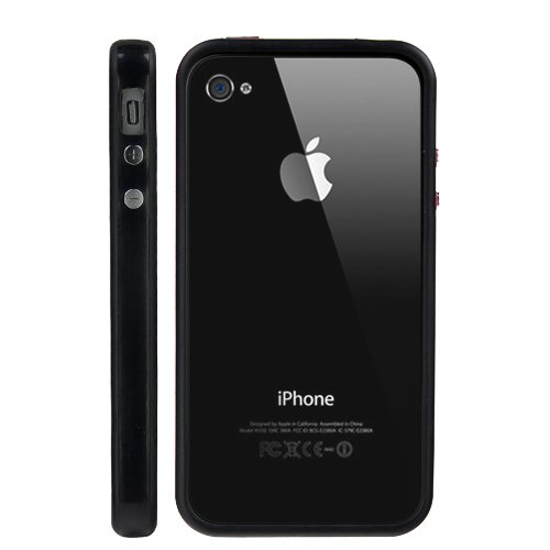 iphone 4 bumper black - 2