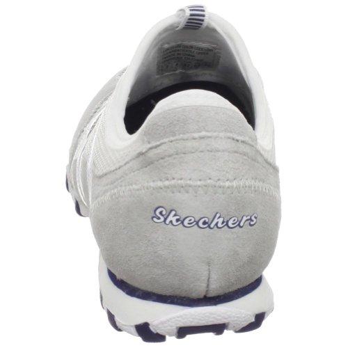 Skechers Bikers Hot-Ticket Ballerina - Zapatillas de deporte para mujer Gris (LGNV)