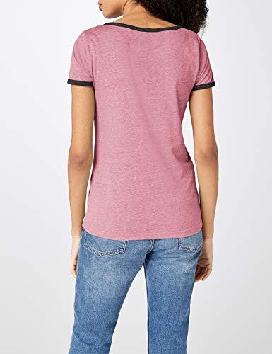 Agout shirt pink Intimuse Rosa T Melange 084 Donna 6wAqAz
