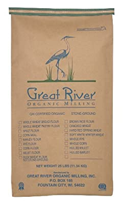 Organic Steel Cut Oats, 25-Pound from Great River Organic Milling