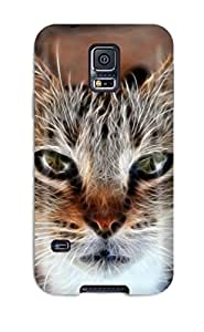 Janice K. Alvarado's Shop Defender Case With Nice Appearance (animal Cat) For Galaxy S5 9417541K36957804