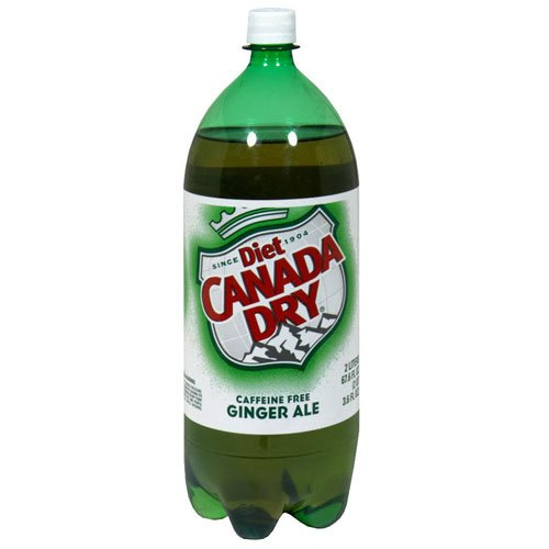 7 UP Canada Dry Ginger Ale Diet, 67.63-Ounce (Pack of 8)