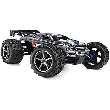 amazon com traxxas e revo brushless 1 10 scale 4wd electric racing rh amazon com 1 8 Traxxas Revo Traxxas E-Revo Mamba Monster