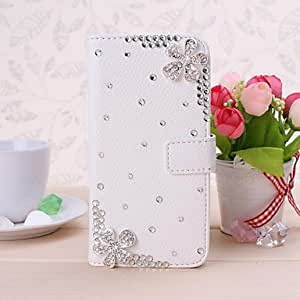 Kinston Little Romantic Flower Pattern PU Leather Full Body Case with Stand for HuP7