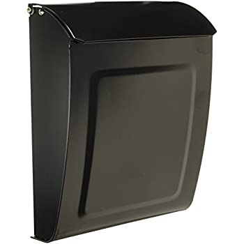 architectural mailboxes aspen locking wall mount mailbox black small large oiled bronze home depot