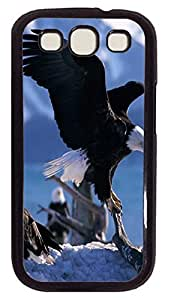 the best Samsung S3 cover American Eagle Animal PC Black cover custom Samsung S3