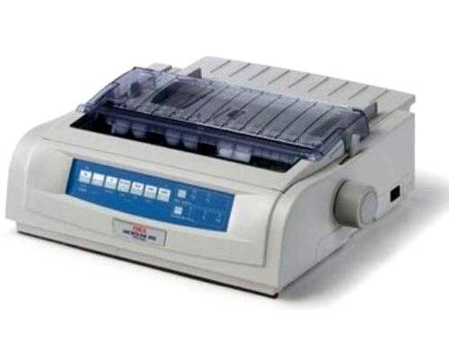 OKI MICROLINE 490N Dot Matrix Printer – 24-pin – 475 CPS Mono – 360 x 360 dpi – Parallel, USB (119459B)