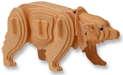 wooden bear - 9