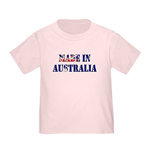 CafePress - Made In Australia Toddler T-Shirt - Cute Toddler T-Shirt, 100% - In Locations Australia