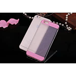 SHOUJIKE TPU Specially Designed Back Cover for iPhone 6 (Assorted Color) , Pink