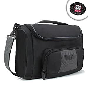 """USA GEAR S7 Protective Tablet Travel Bag w/ Carrying Handle , Shoulder Strap & Adjustable Padded Interior - Works with Apple iPad Pro 9.7"""" , Samsung Galaxy Tab S2 , Microsoft Surface 3 Tablet & More!"""