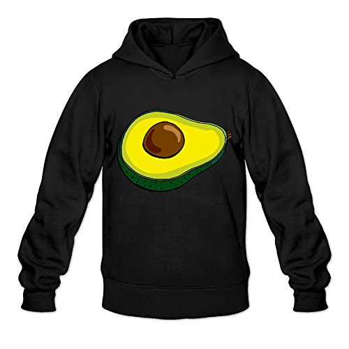 DVPHQ Men's Classic Avocado Sweater Size XXL Black - Diner Doll Costumes For Women