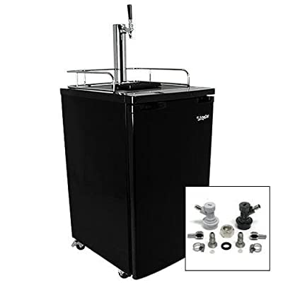 EdgeStar KC2000HMBREW 20 Inch Wide Kegerator and Keg Beer Cooler for Full Size K