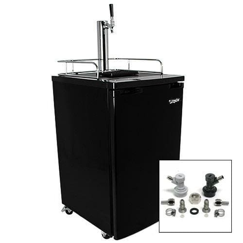 Marvel Half Keg Beer Dispenser (EdgeStar Ultra Low Temp Full Size Kegerator & Keg Beer Cooler w/ Home Brew Tap)