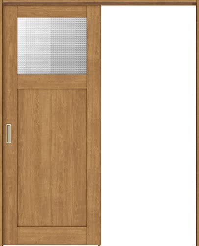 ラシッサS 上吊引戸 片引戸標準 ASUK-LGJ 1620J 錠付 W:1,644mm × H:2,023mm ノンケーシング 本体/枠色:クリエダーク(DD) 勝手:左勝手 枠種類:115mm幅(ノンケーシング枠) 引手(シャインニッケル) 床見切り:なし 機能:ブレーキ プッシュ錠:表示錠(シャインニッケル) 錠加工位置:標準位置 LIXIL リクシル TOSTEM トステム
