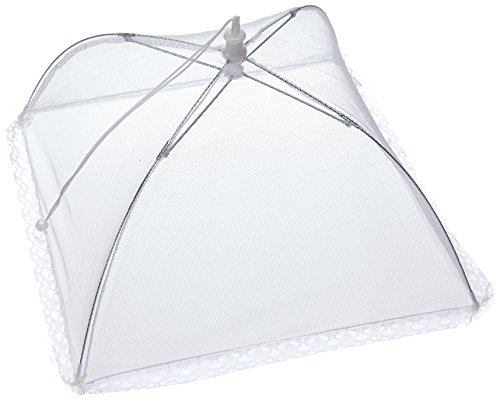 Chef Craft Food Cover Umbrella Tent, 12 Inch (Pack of 4) ()