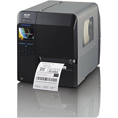 Sato CL412NX Direct Thermal/Thermal Transfer Printer - Monochrome - Desktop - Label Print - 4.10