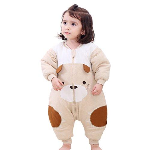 PEACE MONKEY Baby Sleepsack Wearable Blanket For Toddlers Baby Pajama(L, Little Bear)