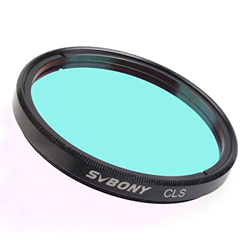 SVBONY 2 inches CLS Filter City Light Pollution Reduction Filter Broadband Filter Suitable for Deep Sky Visual Astronomical Photography