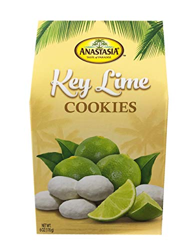 (Anastasia All Natural Key Lime Cookie with Sugar Powder 6oz, 1 Pack)