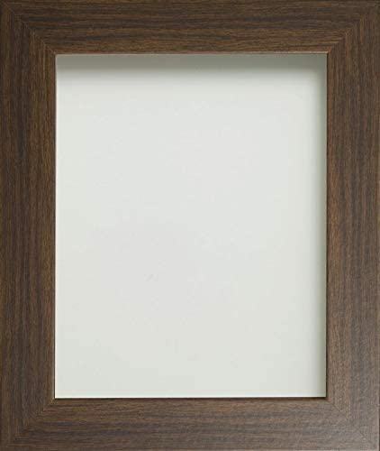 Wood Light Blue Frame Company Photo Frame 7x5 inch fitted with perspex