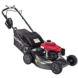 "Honda HRR216VYA 21'' 3-in-1 Self Propelled Smart Drive Roto-stop Lawn Mower with Auto Choke and Twin Blade System 75 Honda HRR216VYA 21"" 3-in-1 Self Propelled Twin Blade Mulching Lawn Mower"