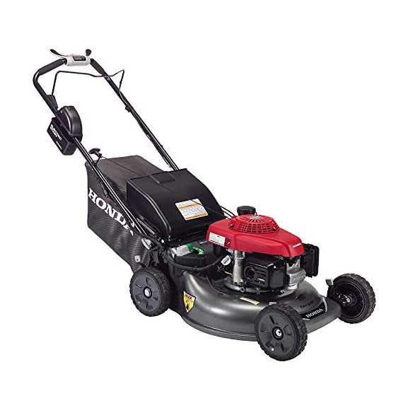 """Honda HRR216VYA 21'' 3-in-1 Self Propelled Smart Drive Roto-stop Lawn Mower with Auto Choke and Twin Blade System 1 Honda HRR216VYA 21"""" 3-in-1 Self Propelled Twin Blade Mulching Lawn Mower"""