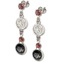 Jeff Gordon #24 Crystal Logo Earrings